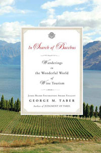 George Taber Wine Book - In Search of Bacchus