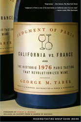 George Taber Wine Book - The Judgment of Paris