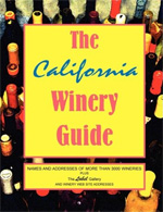 Tony Dimarco Wine Book - The California Winery Guide
